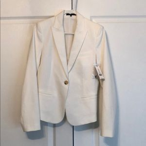 Women's Theory white blazer